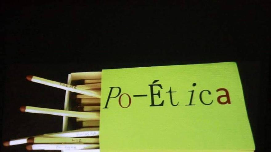 Po-Ét ica es la imagen que encabeza el manifiesto 'Justicia poética'