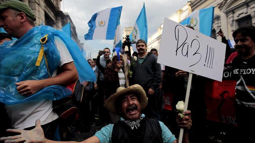 Reunión de la Junta Directiva del Congreso para conocer la renuncia del presidente de Guatemala