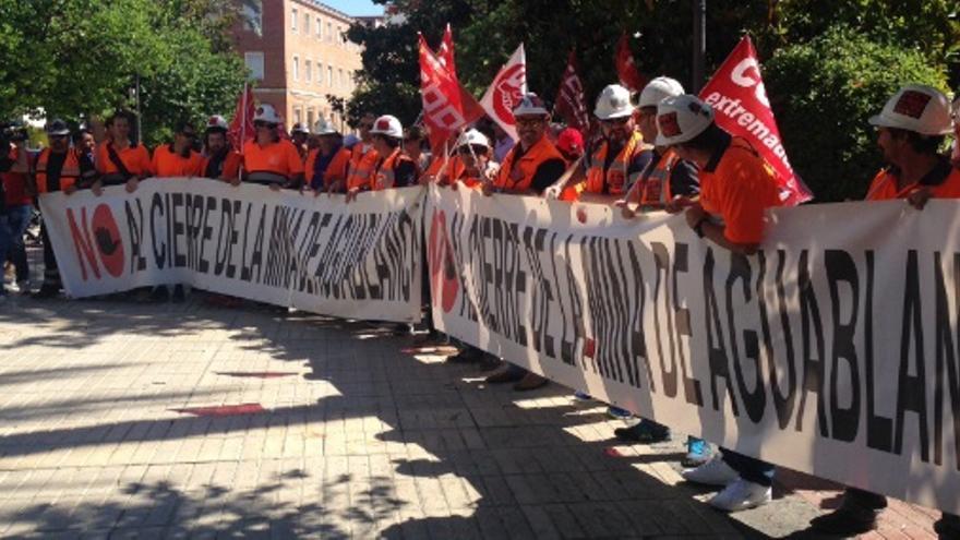 Reclaman una solución urgente para Aguablanca / CCOO Extremadura