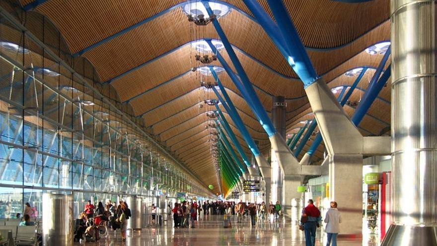Terminal T4 del aeropuerto Madrid-Barajas Adolfo Suárez.