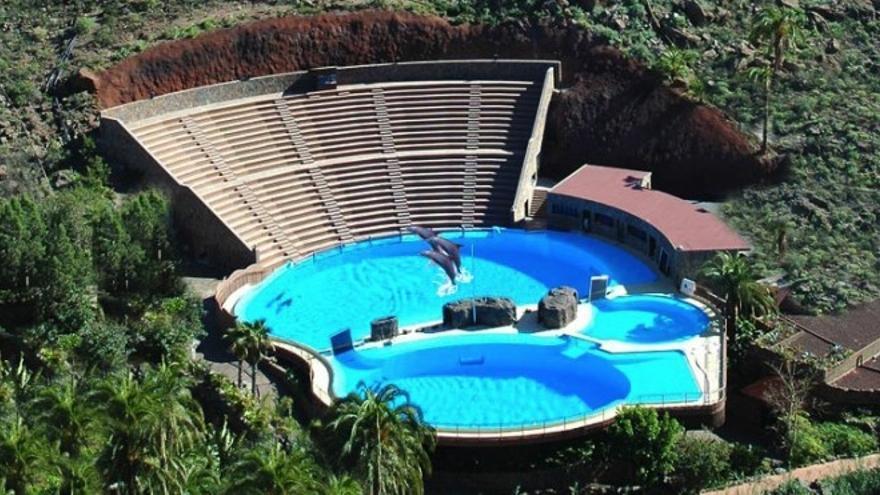 Delfinario de Palmitos Park.