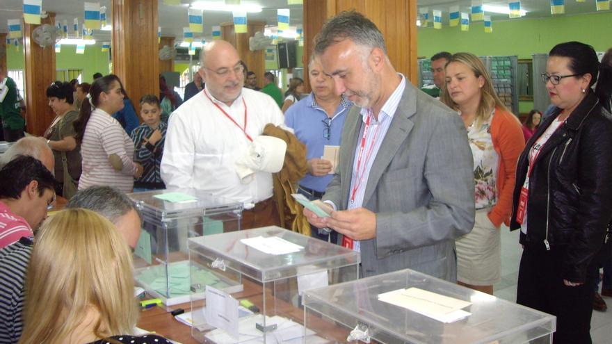 El candidato socialista al Cabildo de Gran Canaria, Ángel Víctor Torres.