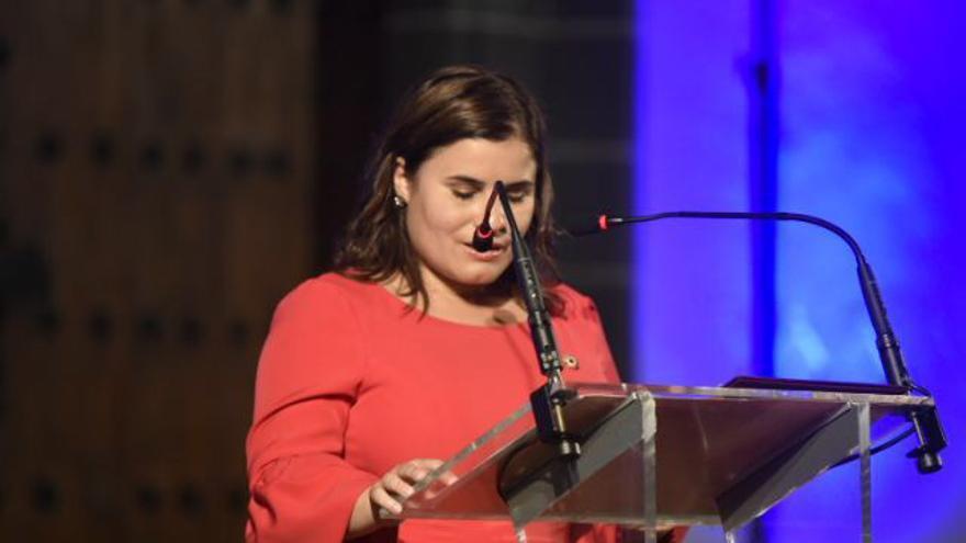 La alcaldesa de Candelaria, María Concepción Brito.