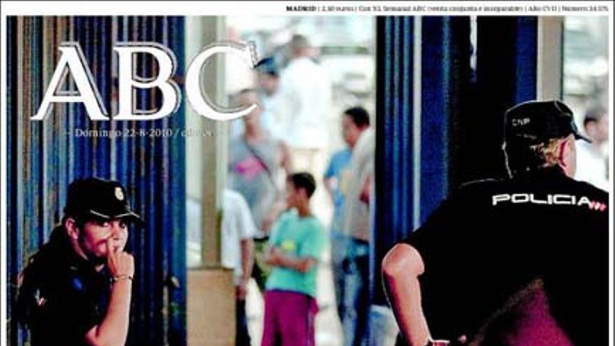 De las portadas del día (22/08/2010) #1