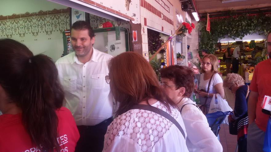 El candidato del PSOE y concejal de Urbanismo, José Ángel Martín.