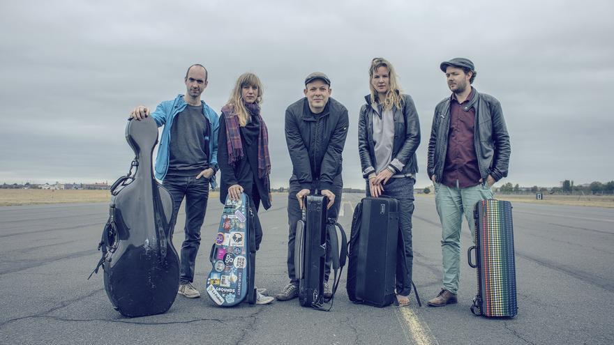 Imagen de los músicos que actuarán en La Palma.