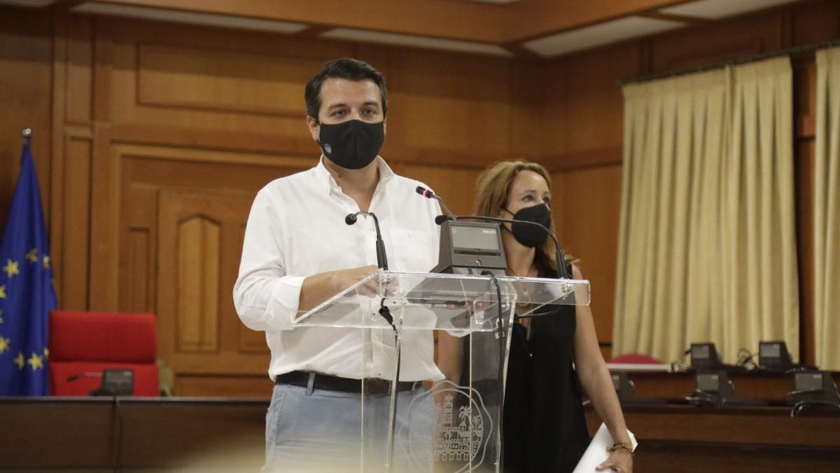 José María Bellido, este jueves en Capitulares