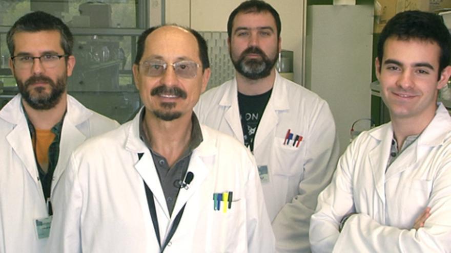 El grupo de investigadores dirigido por Diego Guérin