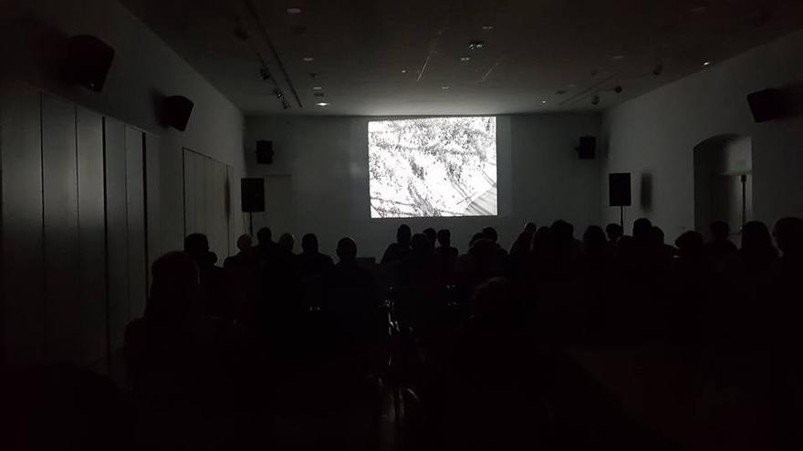 Sala de proyecciones del Centro de Arte dos de Mayo de Madrid