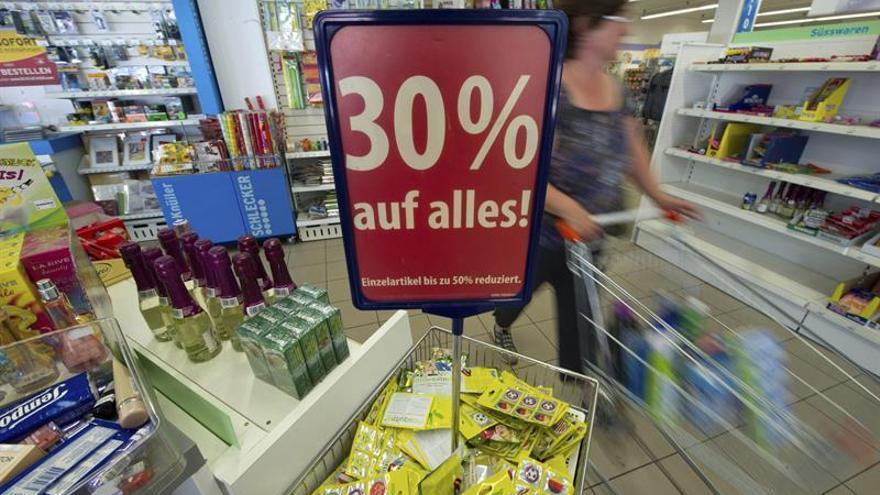 La confianza de los consumidores crece 1,2 puntos en la eurozona en noviembre