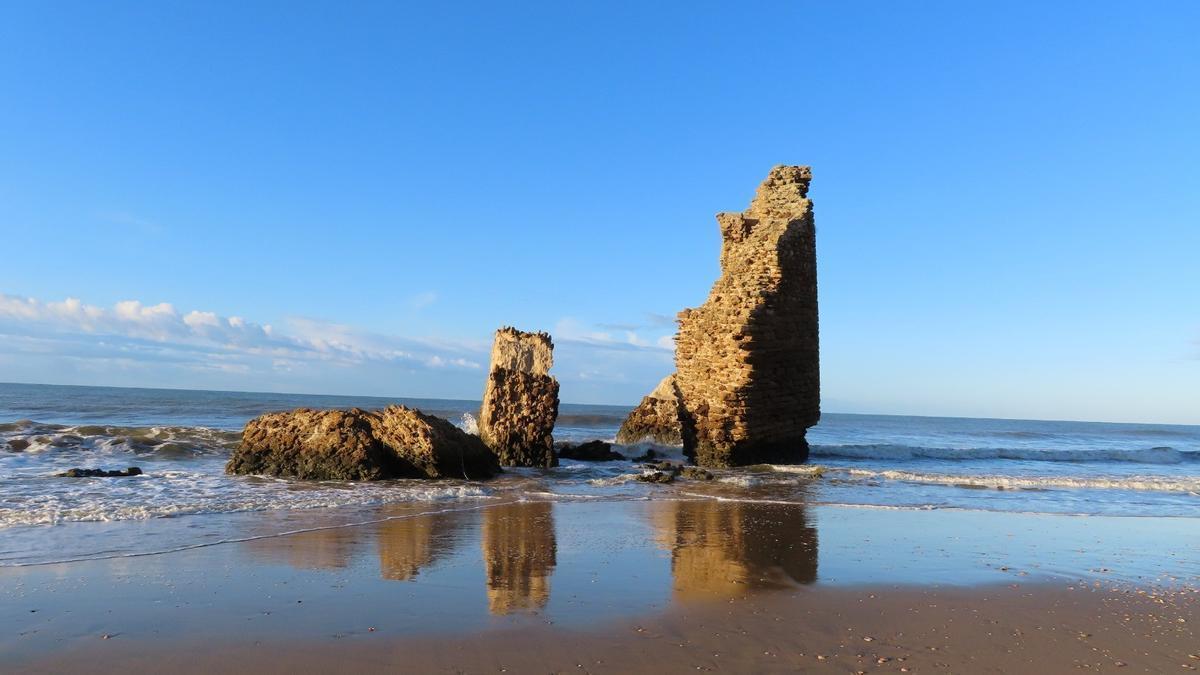 Playa de torre de Loro en Mazagón