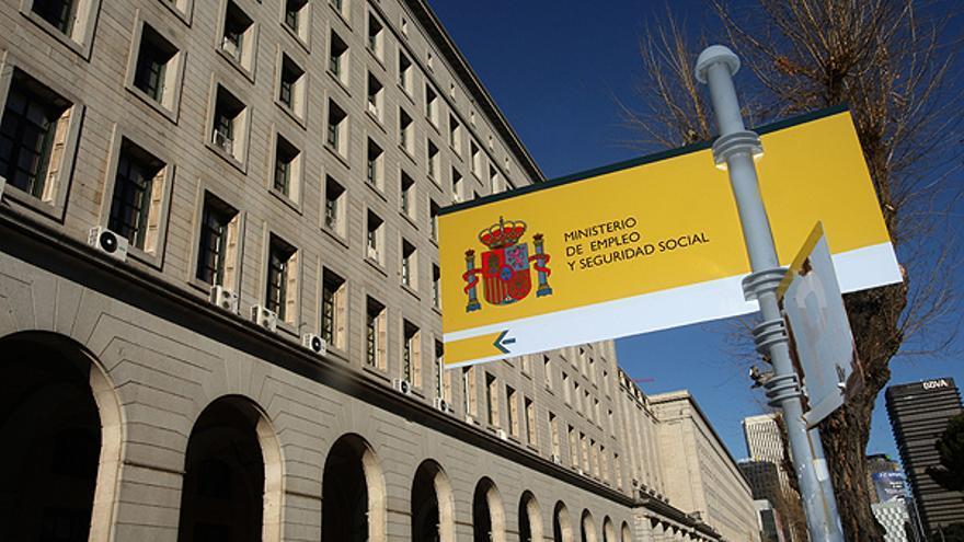 Sede del Ministerio de Empleo y Seguridad Social en el paseo de la Castellana
