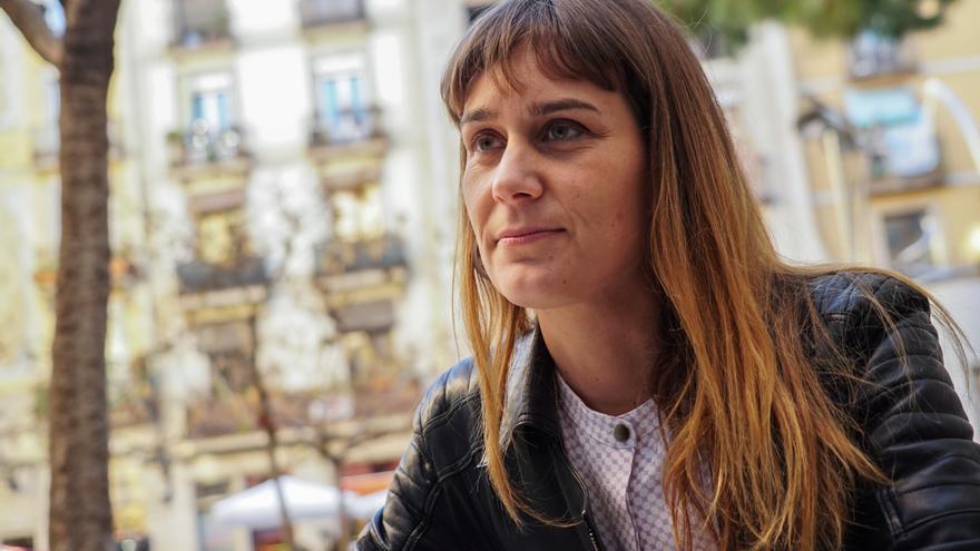 La diputada de Catalunya en Comú Podem, Jéssica Albiach