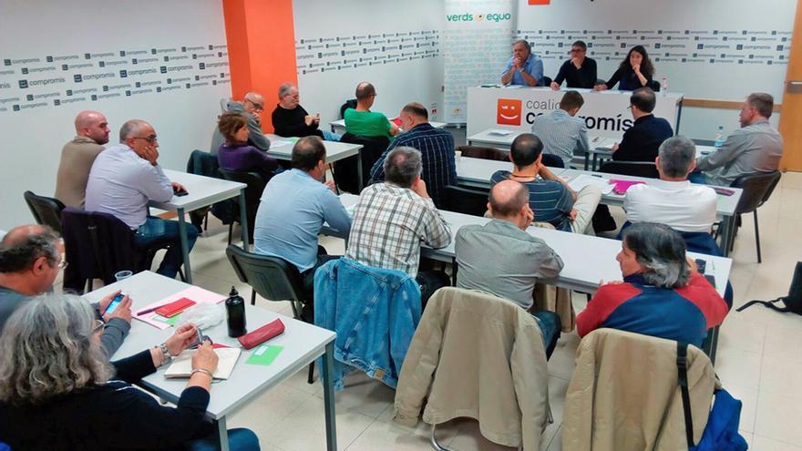 La Mesa de País de Verds-Equo celebrada este sábado en Valencia