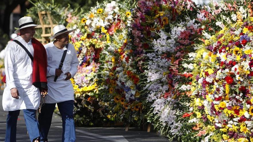 La Feria de las Flores de Medellín cierra con el tradicional Desfile de Silleteros