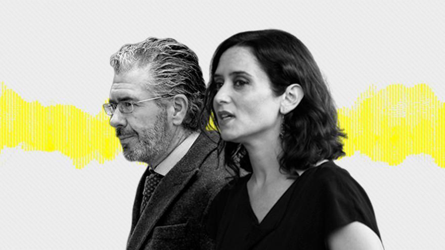 Francisco Granados e Isabel Díaz Ayuso.