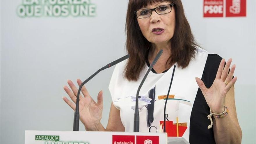 """Micaela Navarro dice que quien hable de una """"trama"""" contra Sánchez no es socialista"""