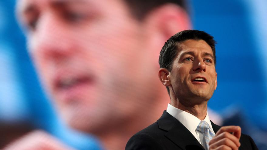 """Los demócratas califican de """"mentiras"""" las declaraciones de Paul Ryan contra Obama"""
