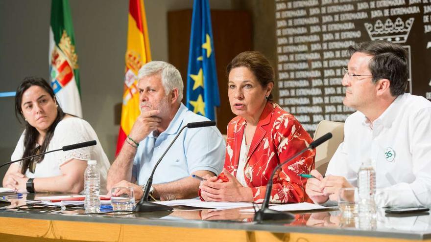 Junta Extremadura sindicatos funcionarios