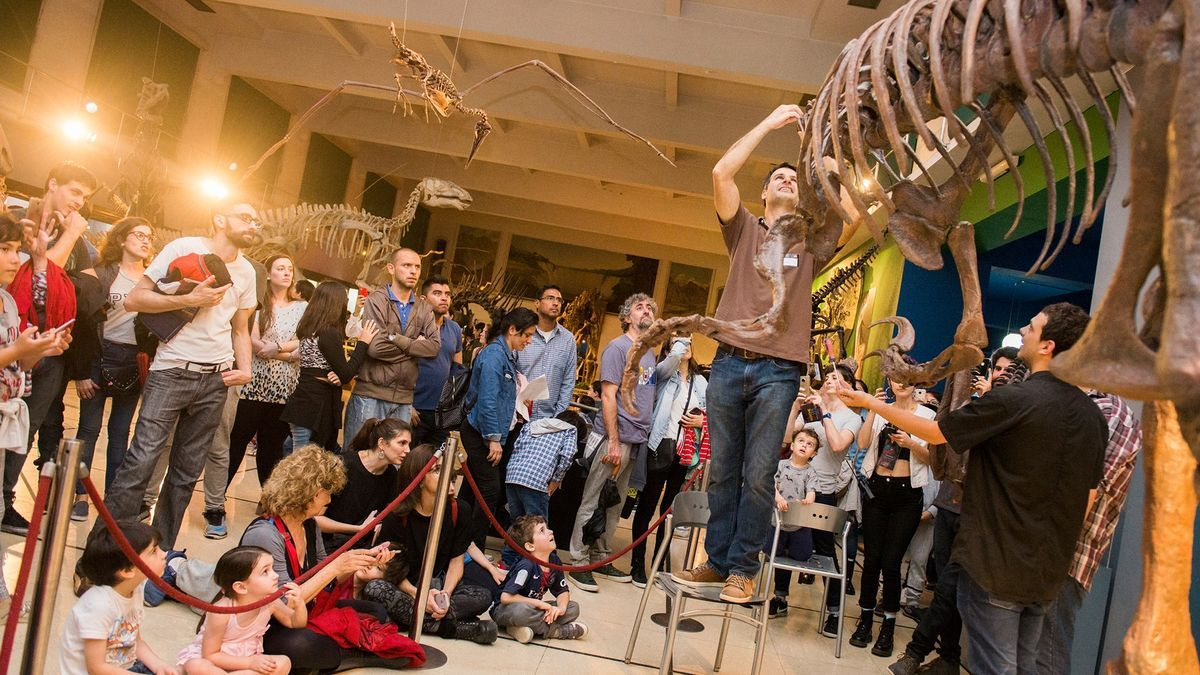 Noche de los museos en el Museo de Ciencias Naturales en 2018