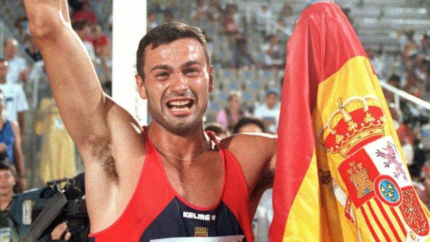 Antonio Peñalver, plata olímpica en Barcelona 92