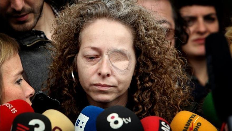 La Generalitat indemniza con 260.931 euros a la mujer que perdió un ojo por la actuación policial