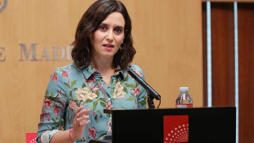 Isabel Díaz Ayuso, candidata del PP a la presidencia de la Comunidad de Madrid.