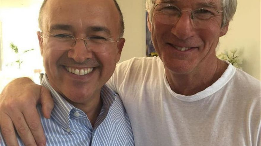 Richard Gere visita R. Dominicana en apoyo a su política medioambiental