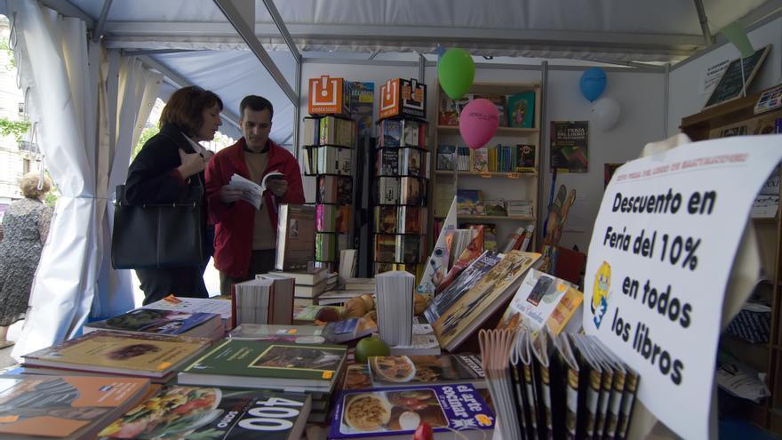 La Feria del Libro de Santander se celebrará en la Plaza Porticada. | JOAQUÍN GÓMEZ SASTRE