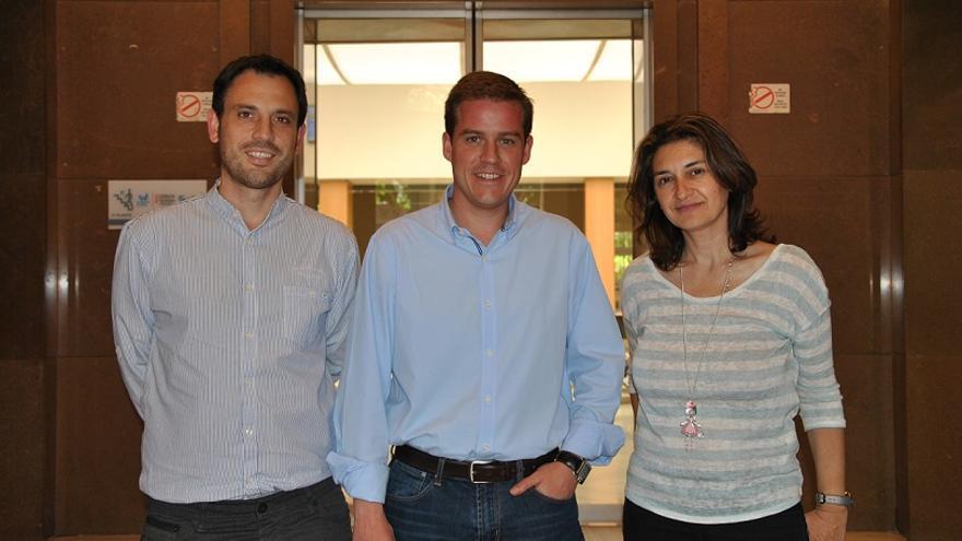 Miquel Lorente (EU), Roger Cerdà (PSPV) y Cristina Suñer (Compromís) han pedido la celebración del pleno extraordinario