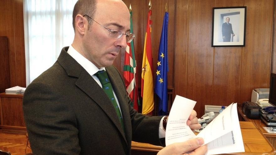 """Urquijo reclama a Urkullu y Mas que pidan que """"el respeto y celebración"""" presidan el partido del sábado en el Camp Nou"""