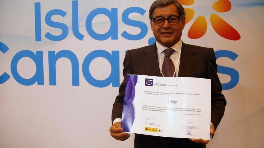 Miguel Ángel Santos, exconsejero delegado de Turismo de Tenerife.