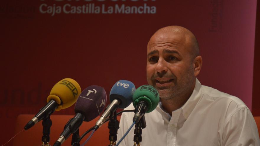 José García Molina, candidato a la Junta de Castilla-La Mancha por Podemos / Foto: Javier Robla