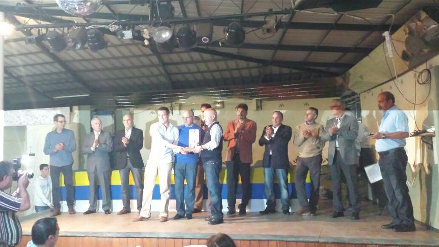 Acto de entrega de trofeos del Grupo Colombófilo de La Gomera