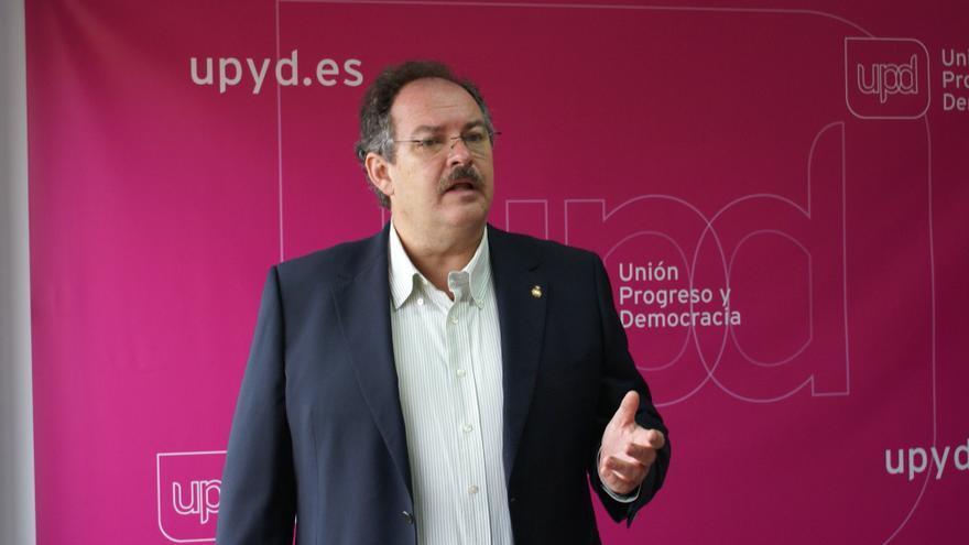 Javier Sánchez-Simón, candidato a alcalde de Las Palmas de Gran Canaria por UPyD.