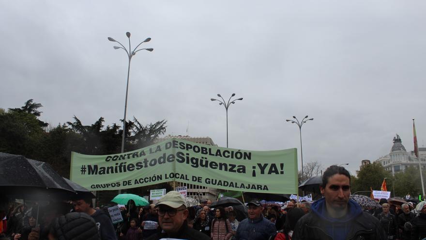 La Red Castellano-manchega de Desarrollo Rural defendió el manifiesto de Sigüenza FOTO: Raquel Gamo