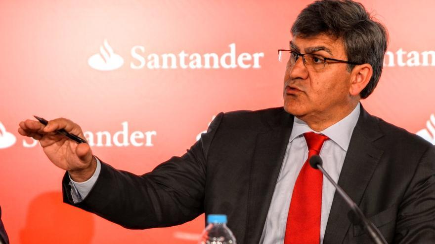 Banco Santander no cobrará a los minoristas por los depósitos