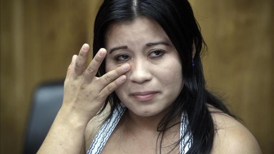 Foto de Guadalupe Vásquez Aldana Libertad tras siete años de cárcel por un aborto