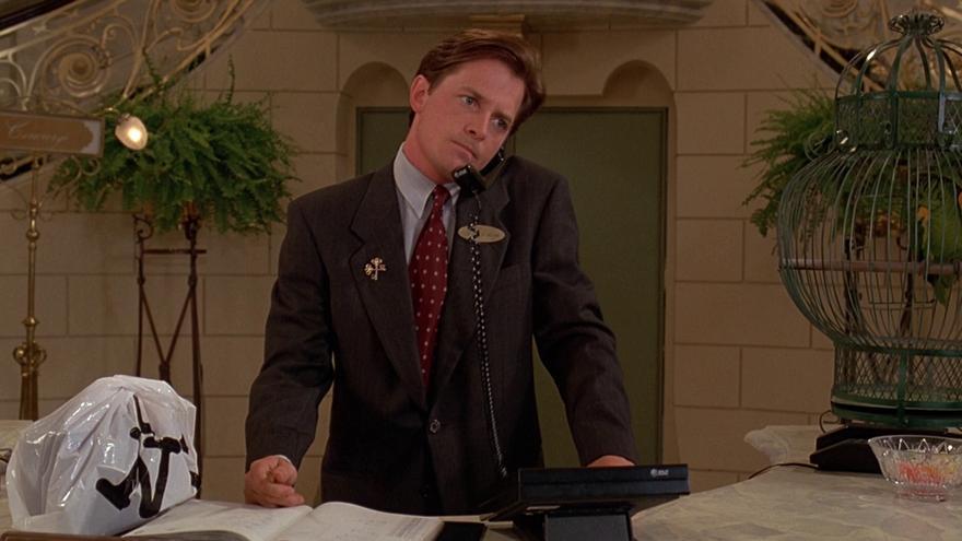 Michael J. Fox Conserje a su medida