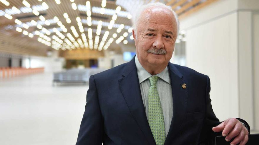 Ricardo Melchior, expresidente de la Autoridad Portuaria de Tenerife.