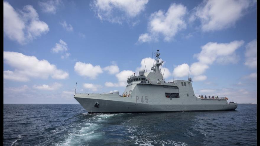 El buque 'Audaz' enviado a recoger el 'Open Arms' es un patrullero utilizado contra la piratería y para vigilar embargos