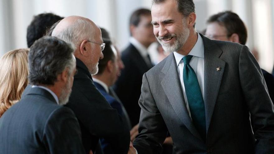 """El Rey elogia a la empresa familiar por """"los valores y la confianza"""" que generan"""