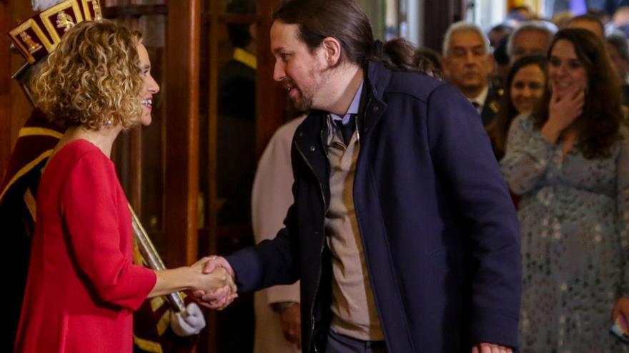 """Iglesias defiende el diálogo """"dentro de los límites que marca la legalidad"""" en la negociación con ERC"""