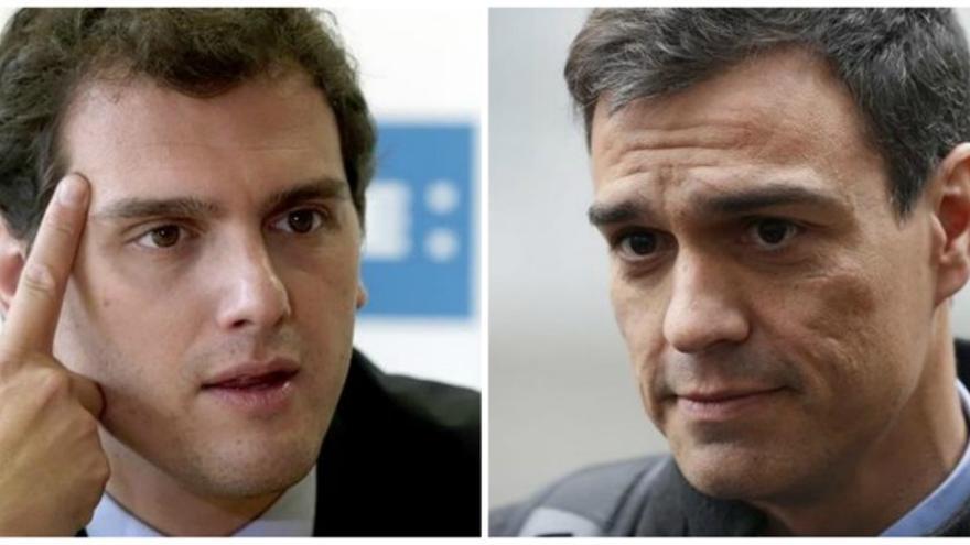 Albert Rivera y Pedro Sánchez se disputan el segundo puesto, clave para ver quién puede ser presidente del gobierno
