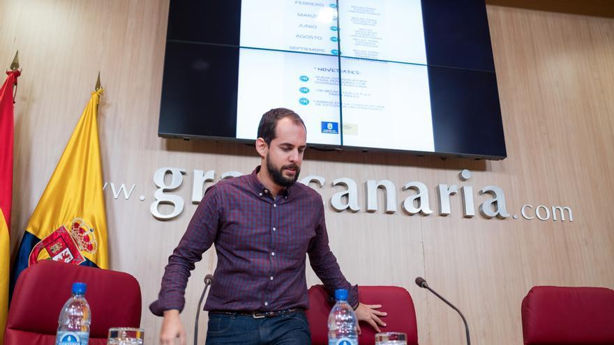 El consejero de Educación del Cabildo de Gran Canaria Miguel Montero