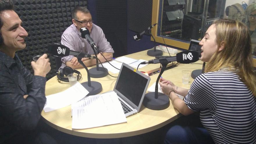 Gonzalo Wilhelmi y Marina Montoto en la Carnicería