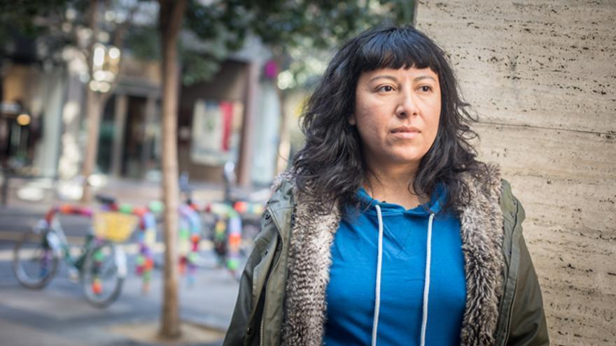 Mer Cruz, integrante del colectivo ciclista Bielas Salvajes