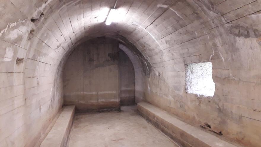 Interior del búnker de Gernika