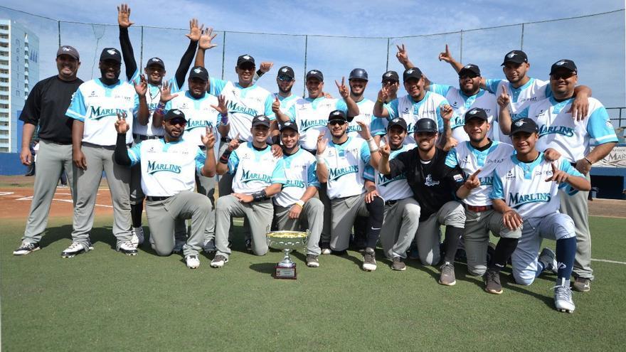 El conjunto del Puerto de la Cruz, el gran dominador del béisbol español de la última década