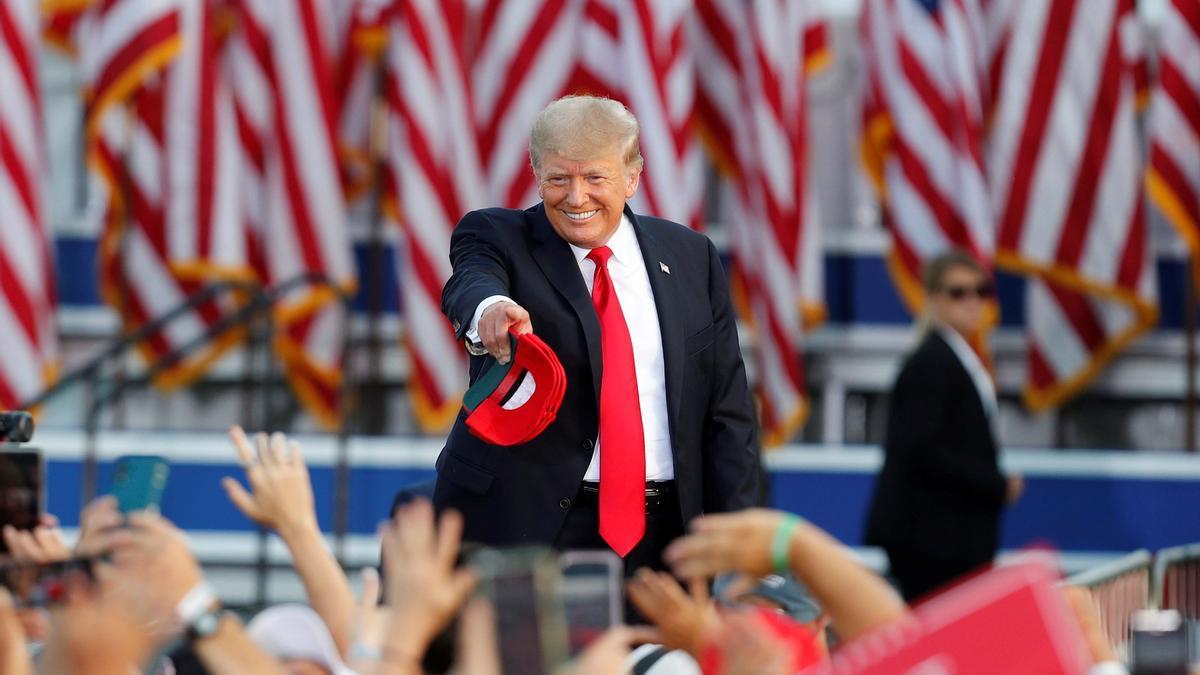 El expresidente de Estados Unidos Donald Trump (2017-2021).